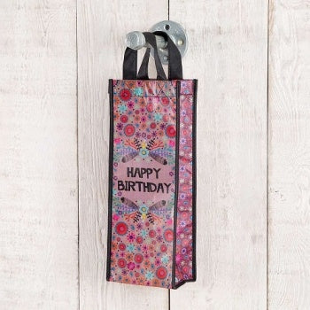 Happy Birthday Wine Bag