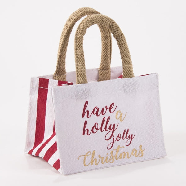 Holly Jolly Petite Gift Tote