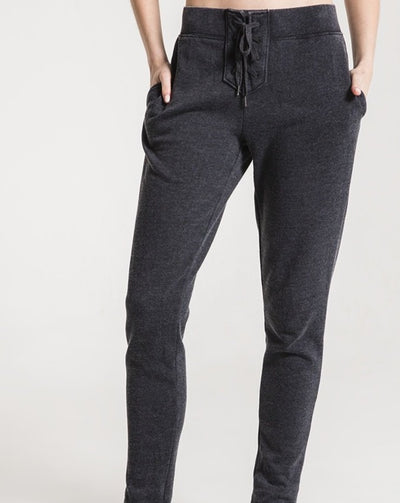 Lace-Up Fleece Jogger