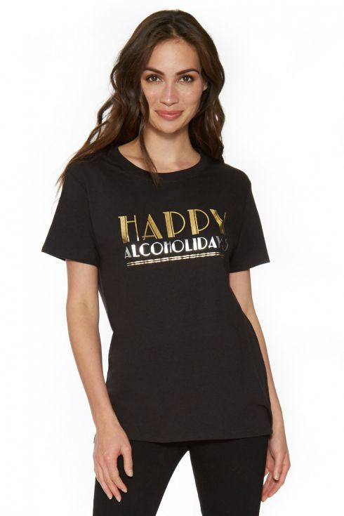 Happy Alcoholidays Tee