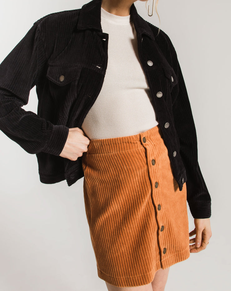 Wide Wale Corduroy Skirt