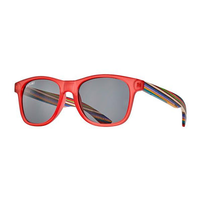The Indio Rainbow Wood Sunglass