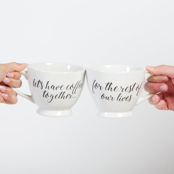 Coffee Mug Set- Rest Of Our Lives