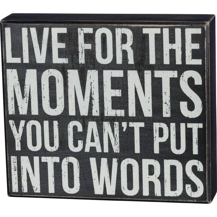 Live for Moments