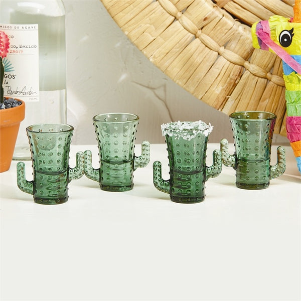 Cactus Shot Glasses Set of 4