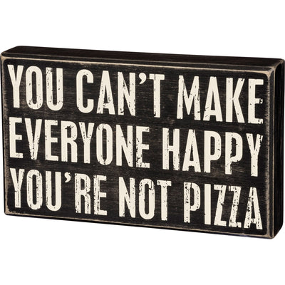 You're Not Pizza