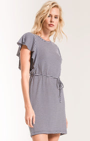 The Capri Ruffle Sleeve Dress