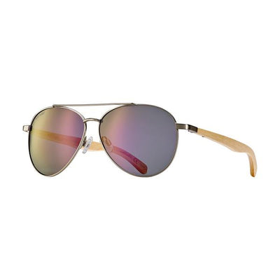 Amador Eco-Friendly Aviator Polarized Sunglass