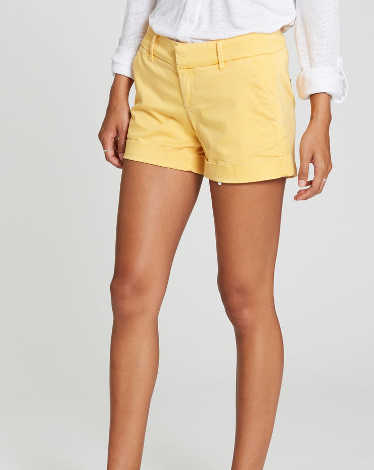 Dear John Hampton Shorts Canary Yellow