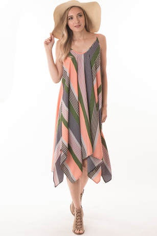 Multi Stripe Maxi