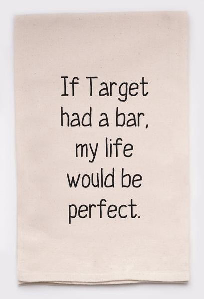 """If Target Had a Bar"""