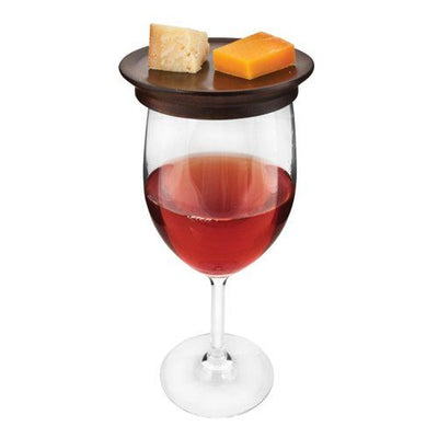 Wine Glass Topper Appetizer Plate