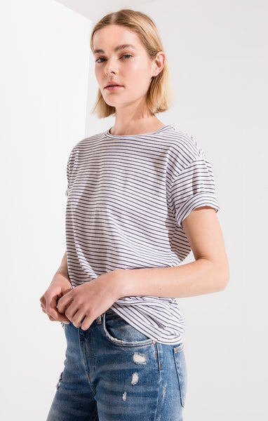 The Striped Boyfriend Tee