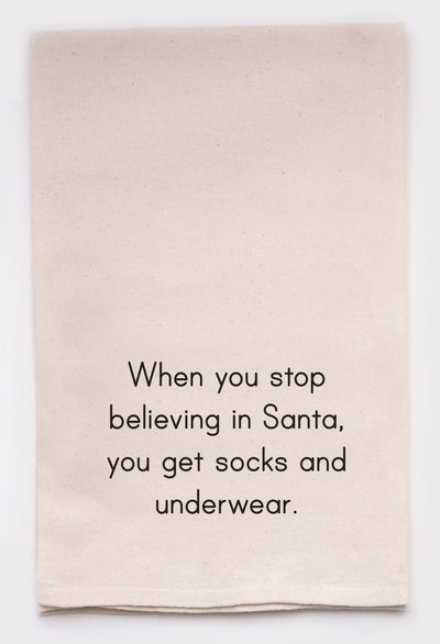Socks And Underwear Tea Towel