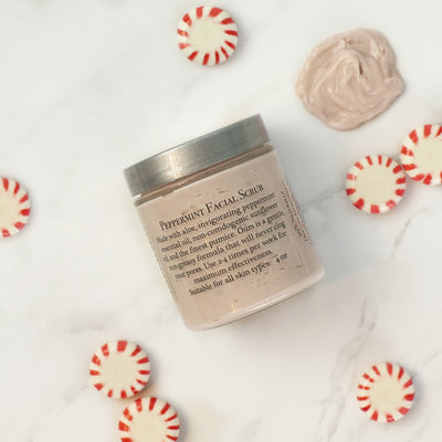 Peppermint Facial Scrub