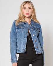 Dear John Alissa Denim Jacket- Cleveland