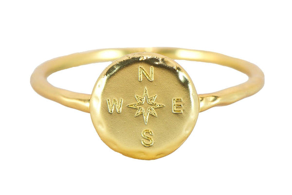 PuraVida Compass Ring