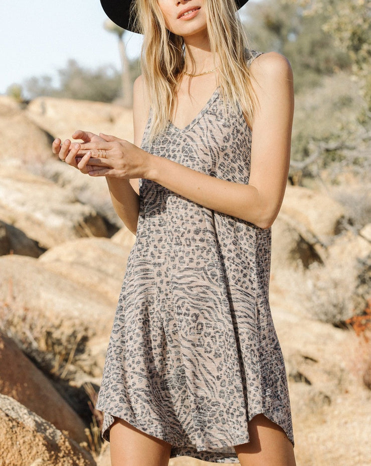 Breezy Animal Print Dress