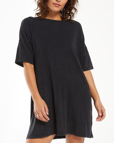 Delta Slub T-Shirt Dress