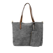 Brushed 2 in 1 Vegan Tote