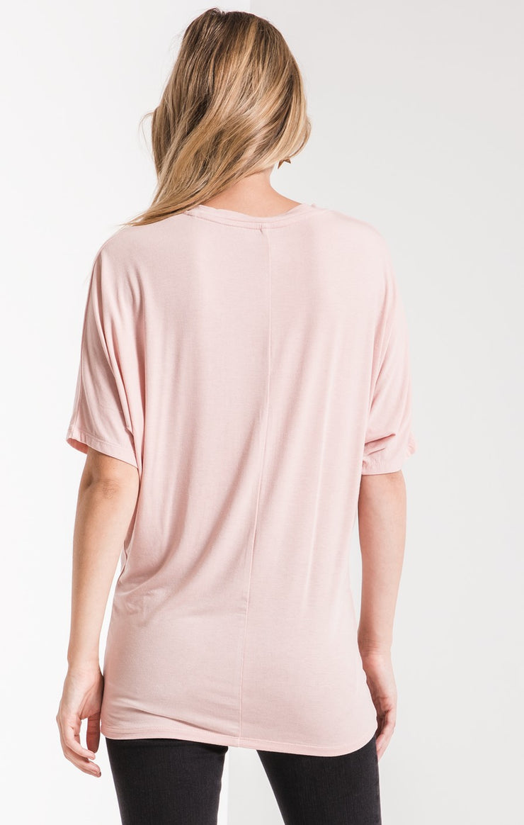 The Sleek Jersey Dolman Tee