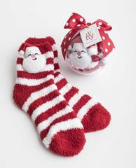 Socks in Gift Ornament
