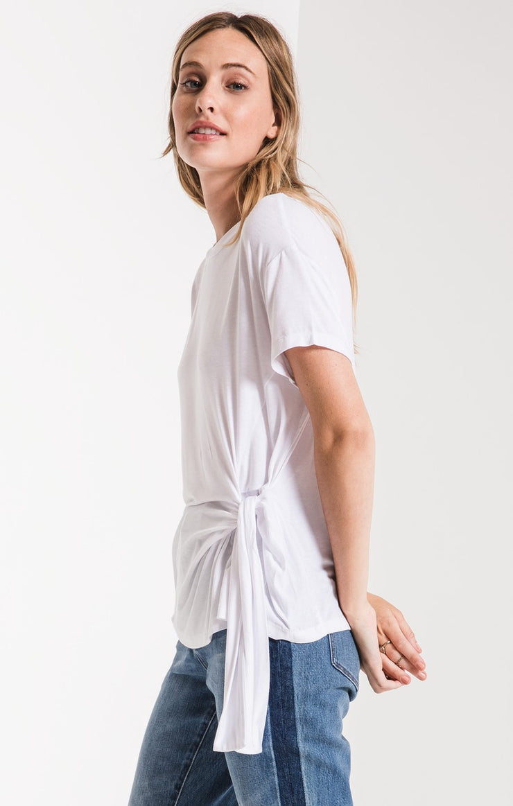 The Side Wrap Tee