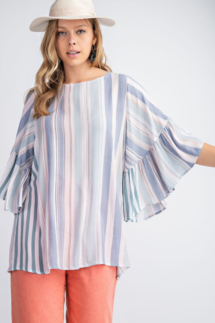 Tunic Bell Sleeve Top