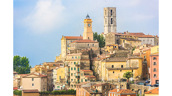 Grasse, the perfume capital of France, old town