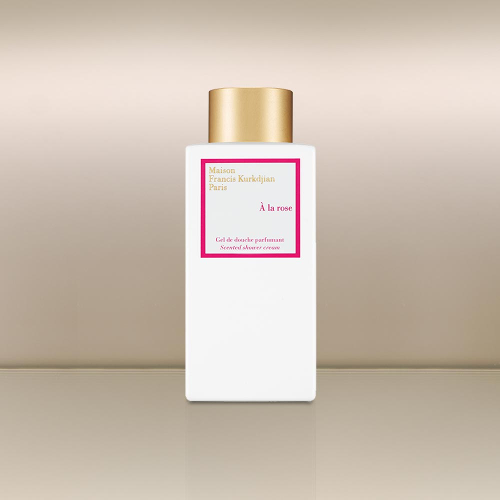 A la Rose Shower Cream by vendor Maison Francis Kurkdjian