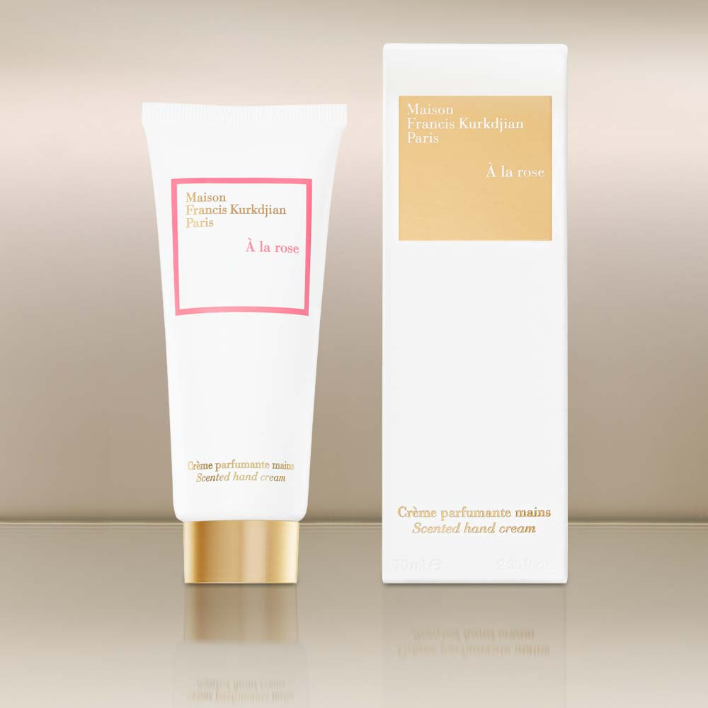 A la Rose Scented Handcream by vendor Maison Francis Kurkdjian