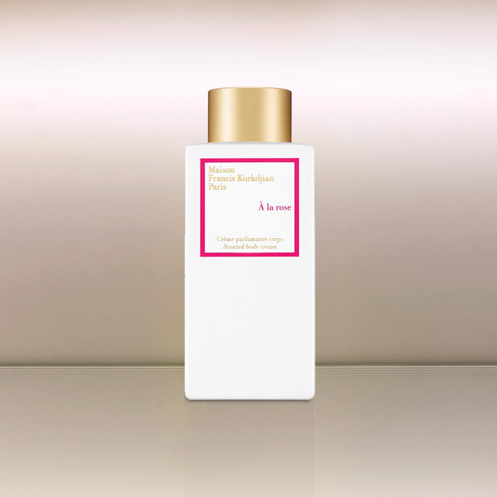 A la Rose Body Cream by vendor Maison Francis Kurkdjian