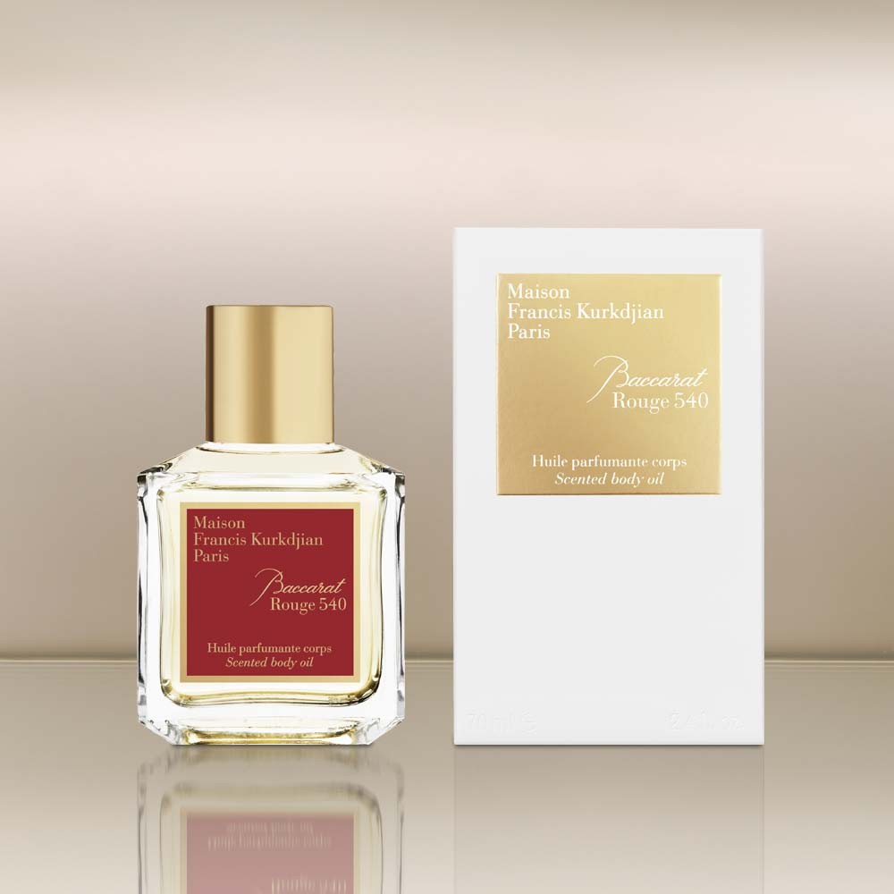 Baccarat Rouge 540 Scented Body Oil by vendor Maison Francis Kurkdjian