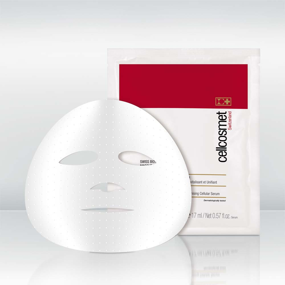 Swiss Biotech CellBrightening Mask by vendor Cellcosmet / Cellmen