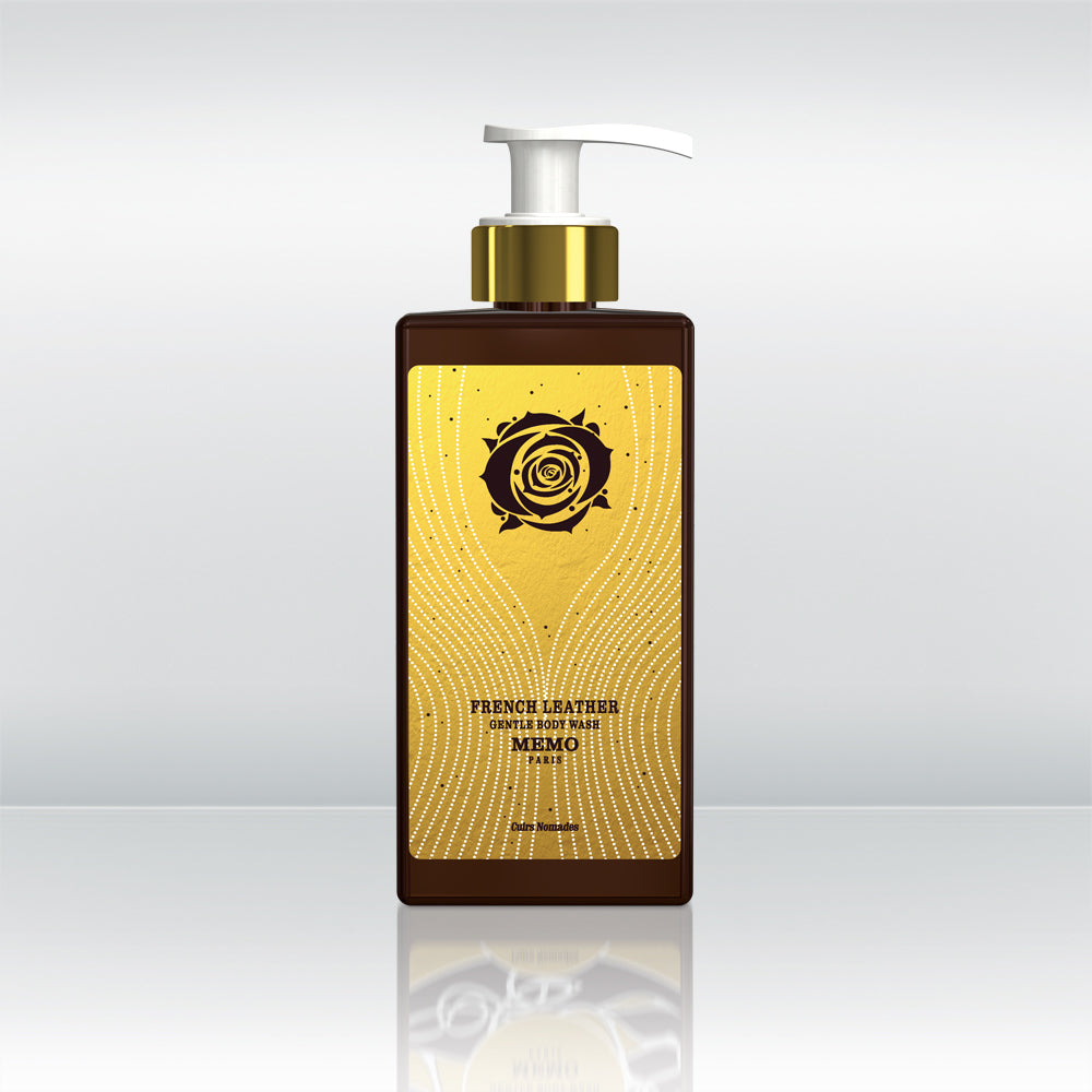 French Leather Body Wash by vendor Memo