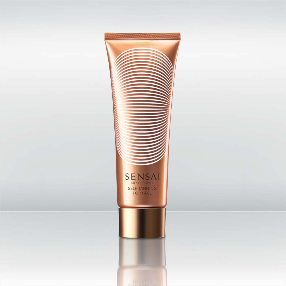 Silky Bronze Self Tanning For Face by vendor Sensai