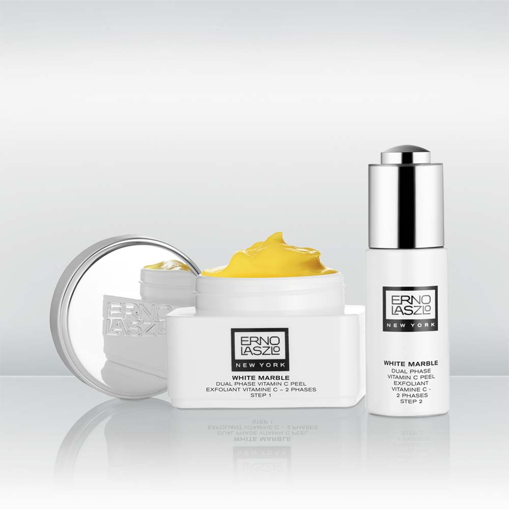 Whiten & Brighten White Marble Dual Phase Vitamin C Peel by vendor Erno Laszlo