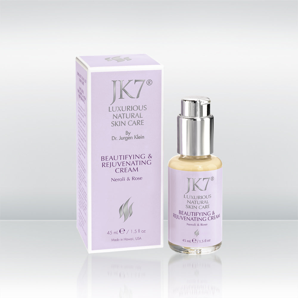 Beautifying & Rejuvenating Cream - Neroli & Rose by vendor JK7