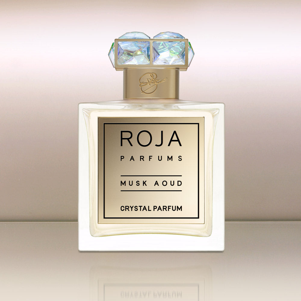 Musk Aoud Crystal Parfum by vendor Roja Parfums