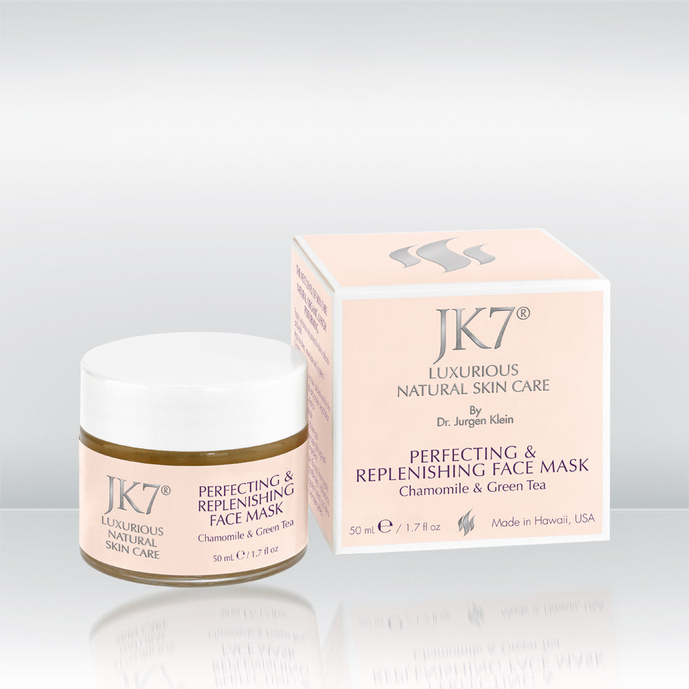 Perfecting & Replenishing Face Mask - Chamomile & Green Tea by vendor JK7