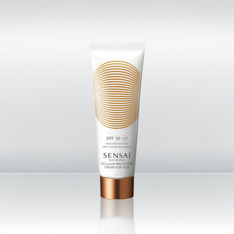 Silky Bronze Cellular Protective Cream For Face SPF 30
