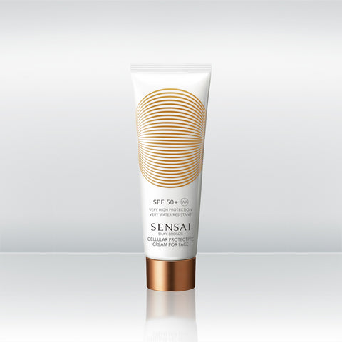 Silky Bronze Cellular Protective Cream For Face SPF 50+