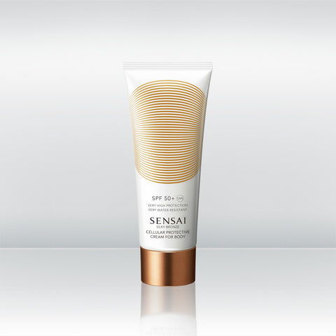 Silky Bronze Cellular Protective Cream For Body SPF50+