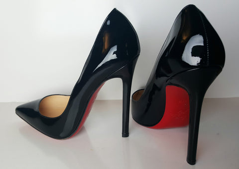 Christian Louboutin Patent Leather Pigalle Pump Size 37.5 (Fits U.S. size 6.5)