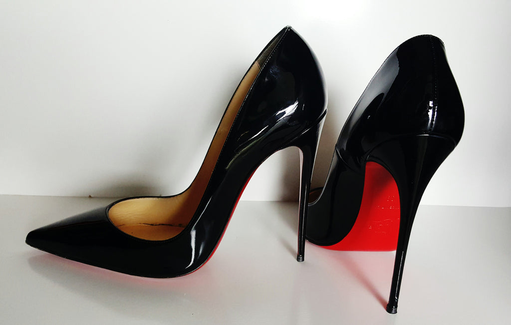 Christian Louboutin So Kate Patent Pump Size 39 (Fits U.S. size 8)
