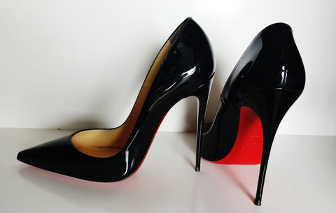 Christian Louboutin So Kate Patent Pump Size 39.5 (Fits U.S. sizes 8.5-9)