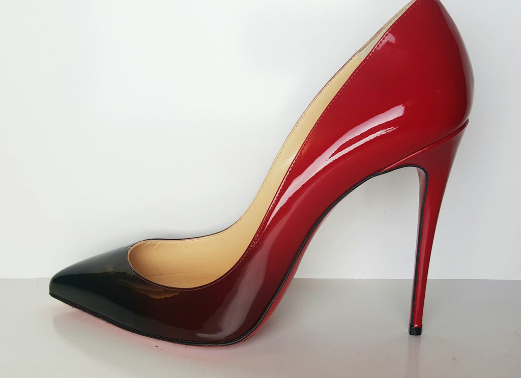 brand new 3ec3a 05626 Christian Louboutin Pigalle Follies Red Degrade Pump Size 40 (Fits U.S.  size 9)