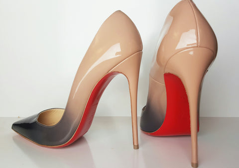 Christian Louboutin So Kate Nude Degrade Pump Size 39.5 (Fits U.S. size 8.5)