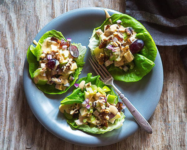 Waldorf Salad Wraps