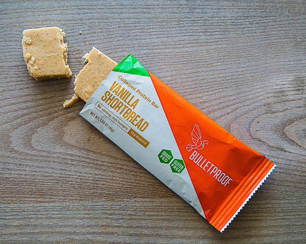 Vanilla Shortbread Collagen Protein Bar